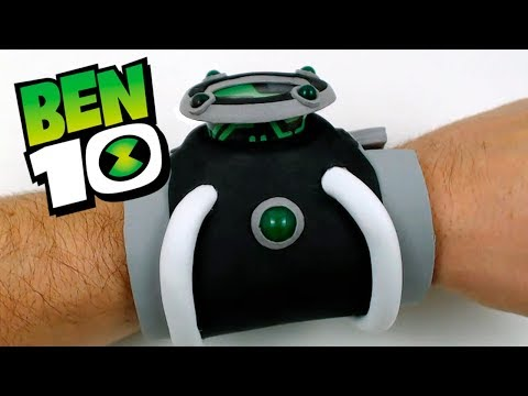 DIY BEN 10 OMNITRIX - Cartoon Network | Creative Minds