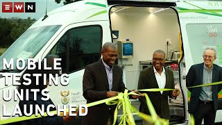 #Corona #Coronavirus #CoronaInSA Health Minister Zweli Mkhize on Wednesday announced that there are currently a total of 1,380 cases in South Africa, an increase of 27 from Tuesday's figure. He addressed the media after launching the mobile sampling and testing units in Sandringham, Johannesburg.