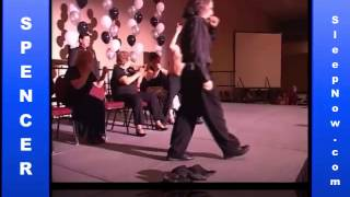 Don Spencer Comedy Hypnotist at Vegas Dance Explosion