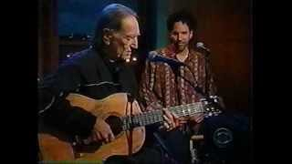 Willie Nelson 'Milk Cow Blues' live on Late Show with Craig Kilborn 2001 studio performance event