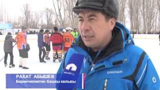 Хоккей биринчилиги Жумгалда өттү (эфир 03.02.2014) КТРК
