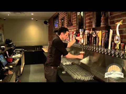 Underground Tap & Grill - Draft Craft Beer - Edmonton, Alberta Pub Restaurant