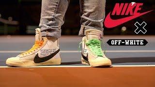 Off-White x Nike Blazer: Review & On Feet Dennis Villa ...