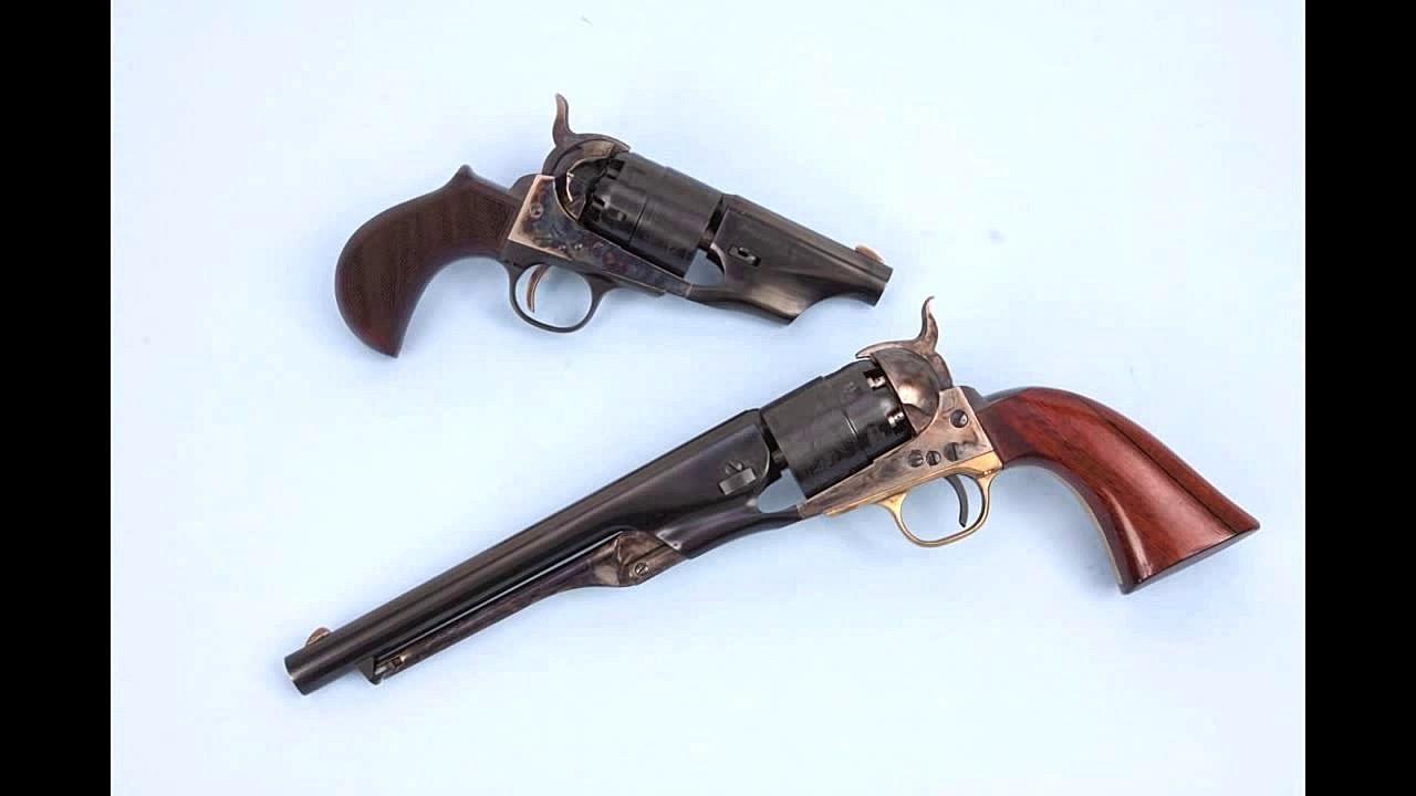 EMF Snub Nose 1860 Army Revolver