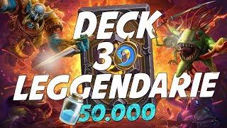 DECK 30 LEGGENDARIE - 50K DUST PER LA VITTORIA!! [HEARTHSTONE ITA]