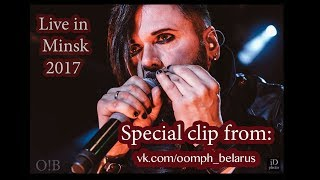 """Special clip """"Live in Minsk - Oomph!"""" from OOMPH!BELARUS Resimi"""
