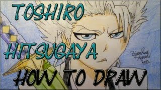 How to draw Toshiro Hitsugaya by Zaromaru