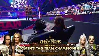 The Riott Squad Vs Natalya & Lana - WWE Raw 14/09/2020 (En Esp…