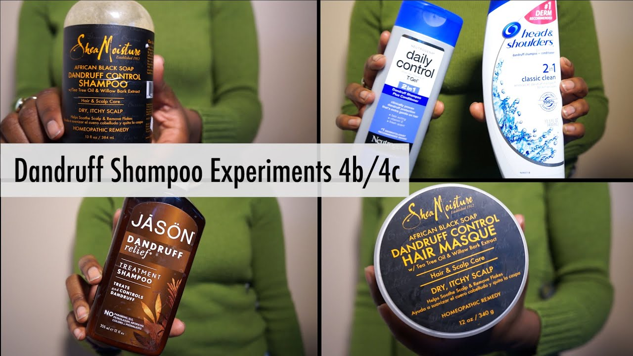 Dandruff Shampoo Reviews 4b\/4c  YouTube