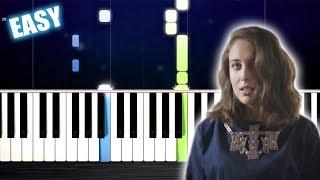 Alice Merton - No Roots - EASY Piano Tutorial by PlutaX