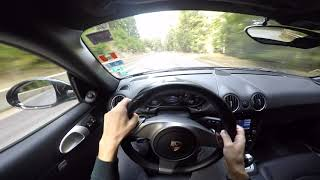 Porsche Cayman 987.2 POV - Cigov chark- Dospat - 2nd part