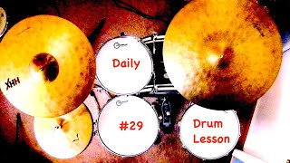Jazz Drum Lesson: Max Roach Lick