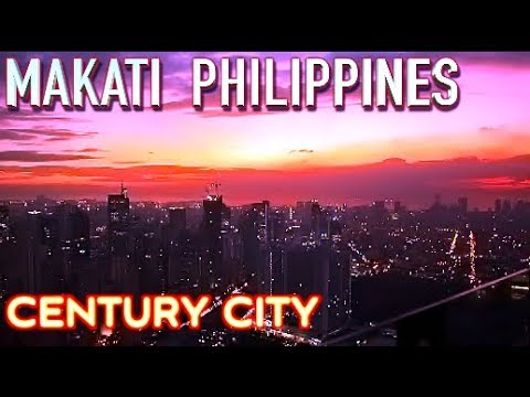 Century City & Makati Power Plant malls and Restaurants Manila Philippines