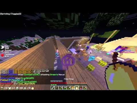 Minecraft Annihilation Golden Apple Rush [CANYON]