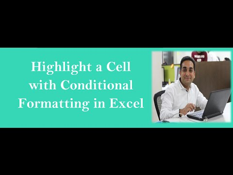 Highlight a Cell In Excel with Conditional Formatting