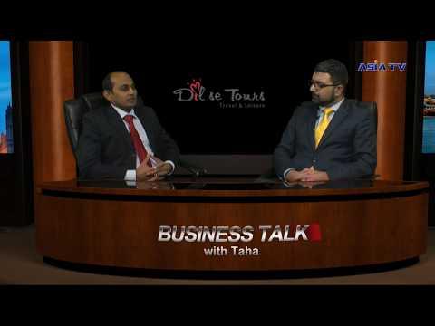 Business Talk with Taha - Piyush Gohil