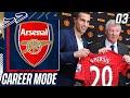 VAN PERSIE SAGA ALL OVER AGAIN!! MAN UTD SIGN HIM!!😱 - FIFA 21 Arsenal Career Mode EP3