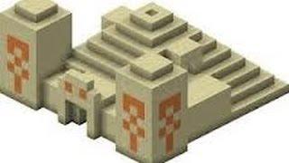 Minecraft Pe Cadı Evi ve Çöl Tapınağı Seed