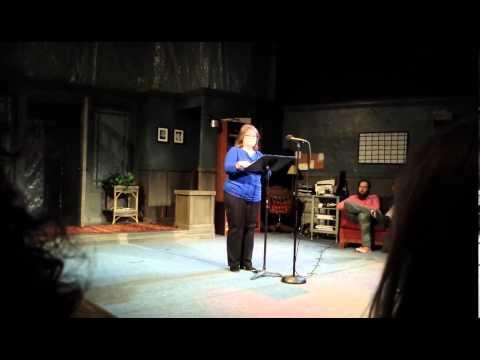 Judi Sadowsky performs at the Rogue Theater