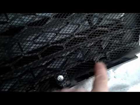 Установка сетки в передний бампер ЛАДА ВЕСТА SW CROSS 2020