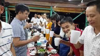 Khai tiệc đoàn FamTrip Huế Hải Phòng