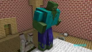 Monster School: Fighting Challange (Minecraft Animations)