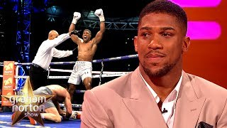 Download Anthony Joshua 'Slipped' During His Fight with Wladimir Klitschko | The Graham Norton Show Mp3 and Videos