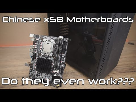 Chinese x58 Motherboards.... Do they even work???