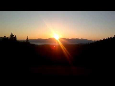 Восход солнца с горы Моисея