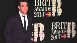 Robbie Williams - The BRITS 2013 (NEW SONG 2013)
