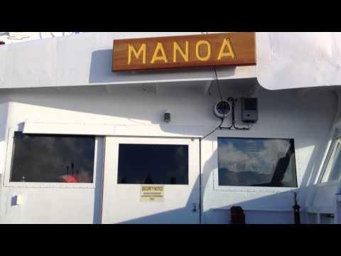 The Matson Navigation (M/V Manoa) Ice bucket challenge 2014.