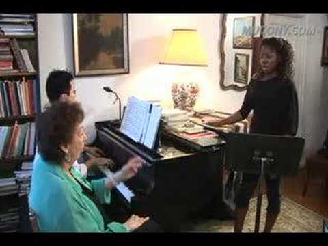 Manhattan School Faculty-Mignon Dunn's Voice Lesson