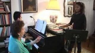 Manhattan School Faculty-Mignon Dunn's Voice Lesson