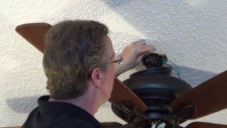 How to Install an Emerson Penbrooke Select Eco Ceiling Fan