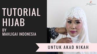 28 Tutorial Hijab Akad Nikah Sederhana Dan Modern Hijabyuk Com