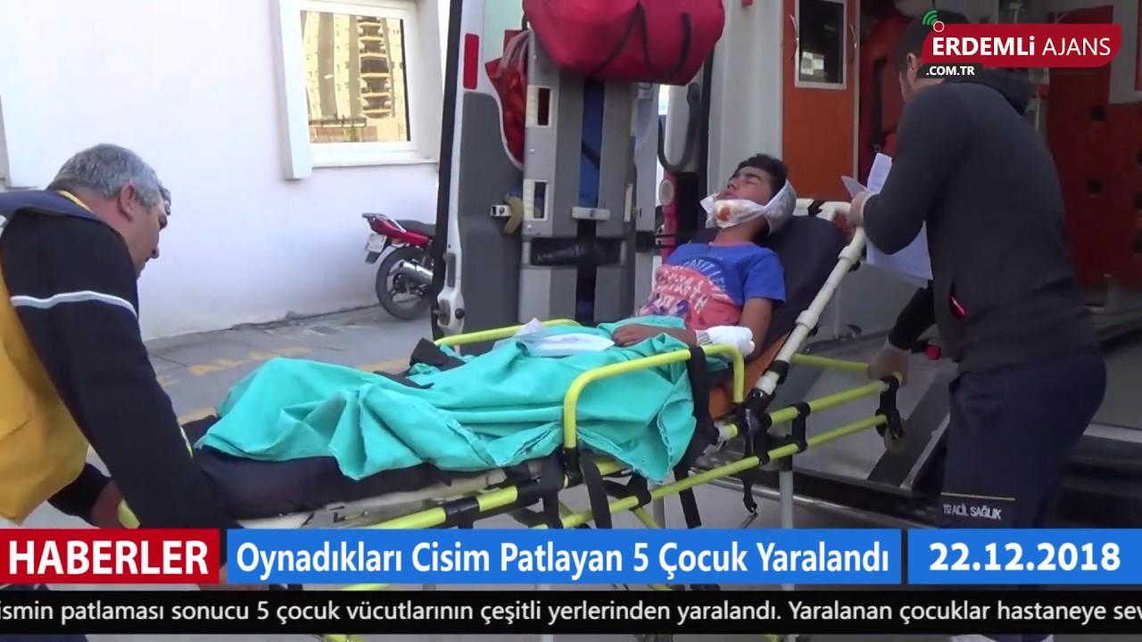 Oynadıkları Cisim Patlayan 5 Çocuk Yaralandı