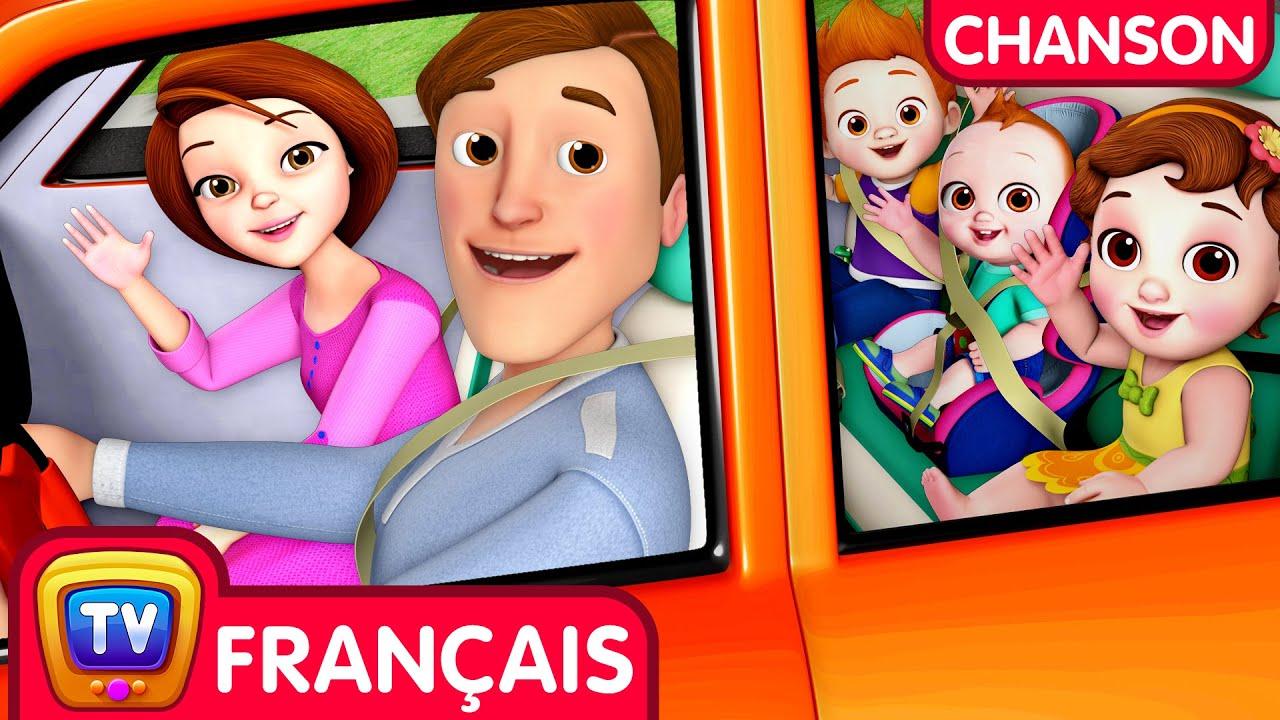 Chanson de voyage (Traveling Song) - ChuChu TV Comptines et Chansons pour Enfants