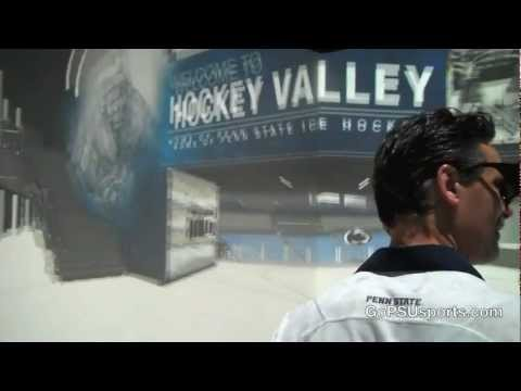 Inside Pegula Ice Arena - Applied Research Laboratory CAVE Model