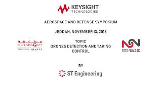 Drones Detection and Taking Control: ST Engineering Electronics