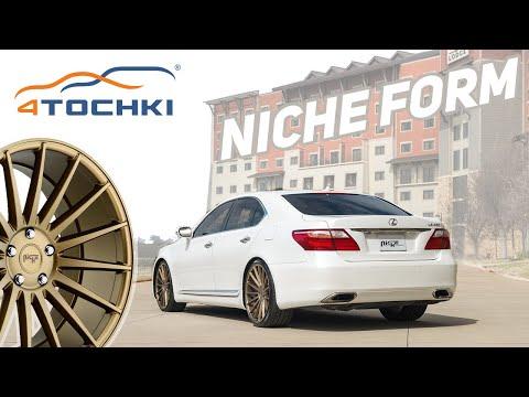 Lexus LS460 на дисках Niche Form