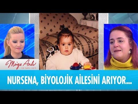 Nursena Haşlaman  biyolojik ailesini arıyor... - Müge Anlı ile Tatlı Sert 17 Ocak 2019