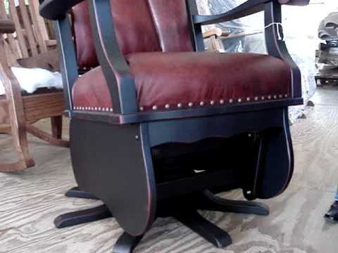 Swivel Glider Rocker - Amish Made
