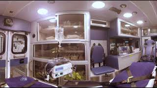 360° Tour of an Ambulance