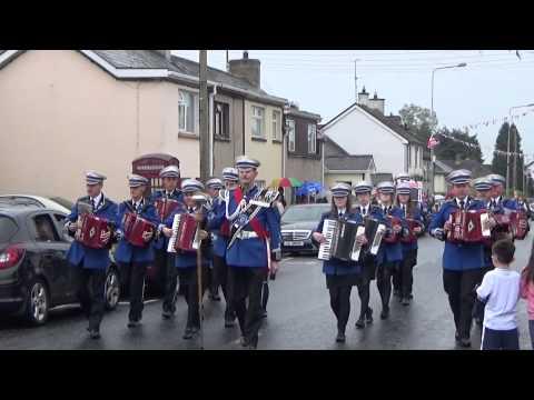 Ballinamallard Accordion Band @ Brookeborough District Parade 2015
