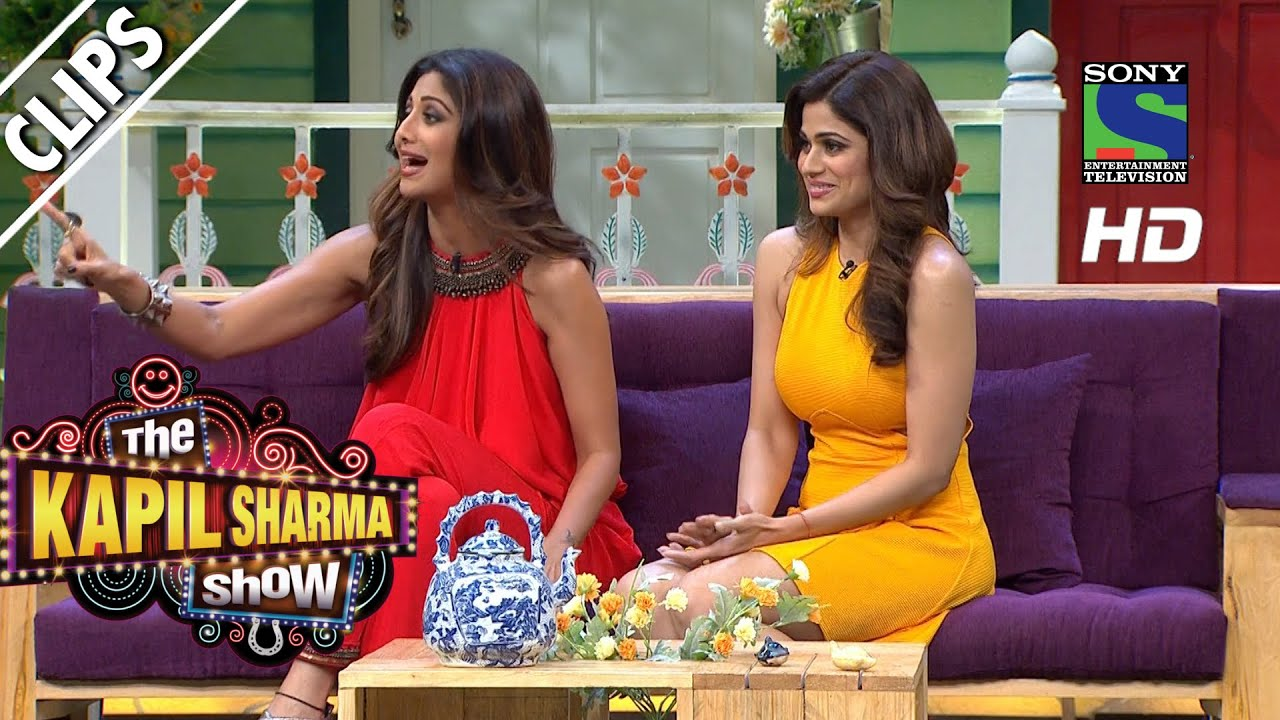 Secret Behind Katora Hair Cut  - The Kapil Sharma Show - Episode 17 - 18th June 2016
