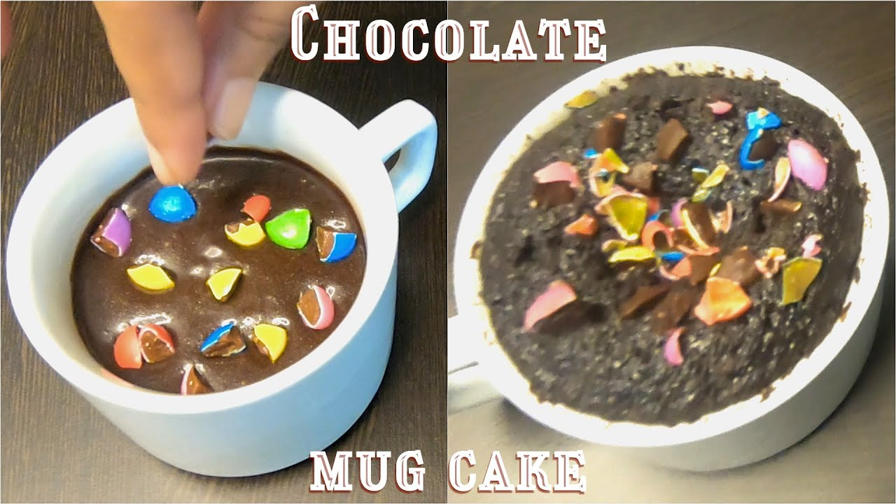 Chocolate Mug Cake | Eggless | Without Oven , Beater or ...