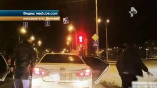 Массовой дракой закончился дорожный конфликт в Кемерове