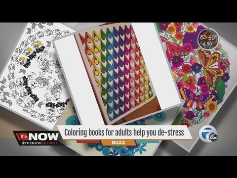 Coloring books for adults help you de-stress