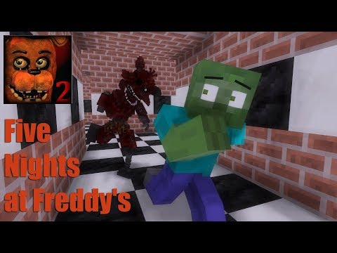 Monster School : Five Nights at Freddy's(FNAF) - Minecraft Animation