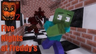 Monster School Five Nights at Freddy s FNAF Minecraft Animation
